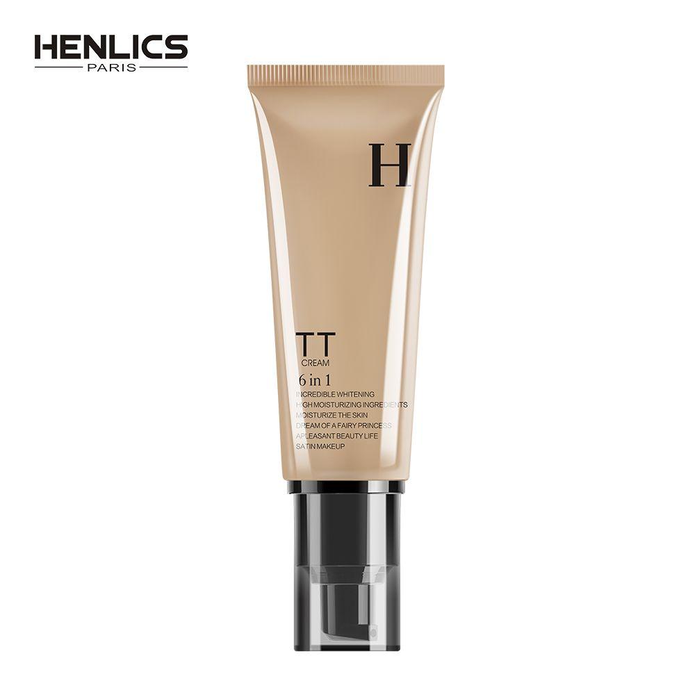 HENLICS Hautpflege Bleaching Schnecke TT Creme 50 ml Gesicht Make-Up BB CC Creme Nude Make up Concealer Grundlage Feuchtigkeits BB Ceram