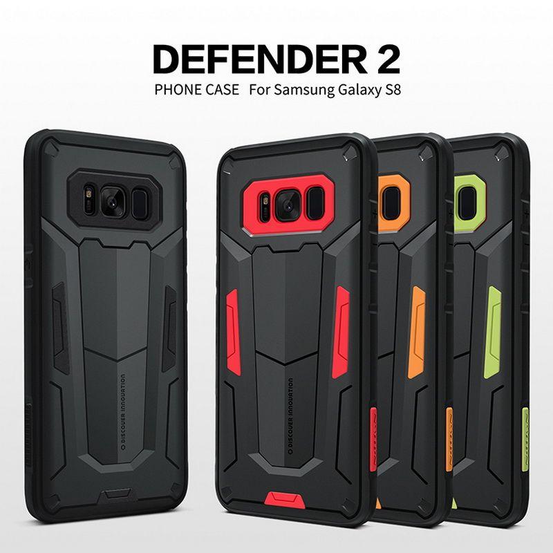 Antichoc Armure Cas Pour Samsung Galaxy S8 S8 Plus Note 8 NILLKIN Defender 2 Bouclier Retour Tough Cas Pour Samsung S8 Plus