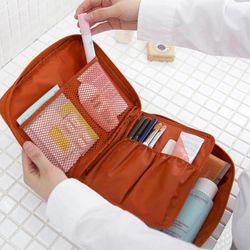 NIBESSER Zipper Homme Femmes Maquillage Sac Cosmétique Sac Portable Beauté Pouch Make Up Organisateur de Toilette Kits De Stockage de Lavage de Voyage Sac