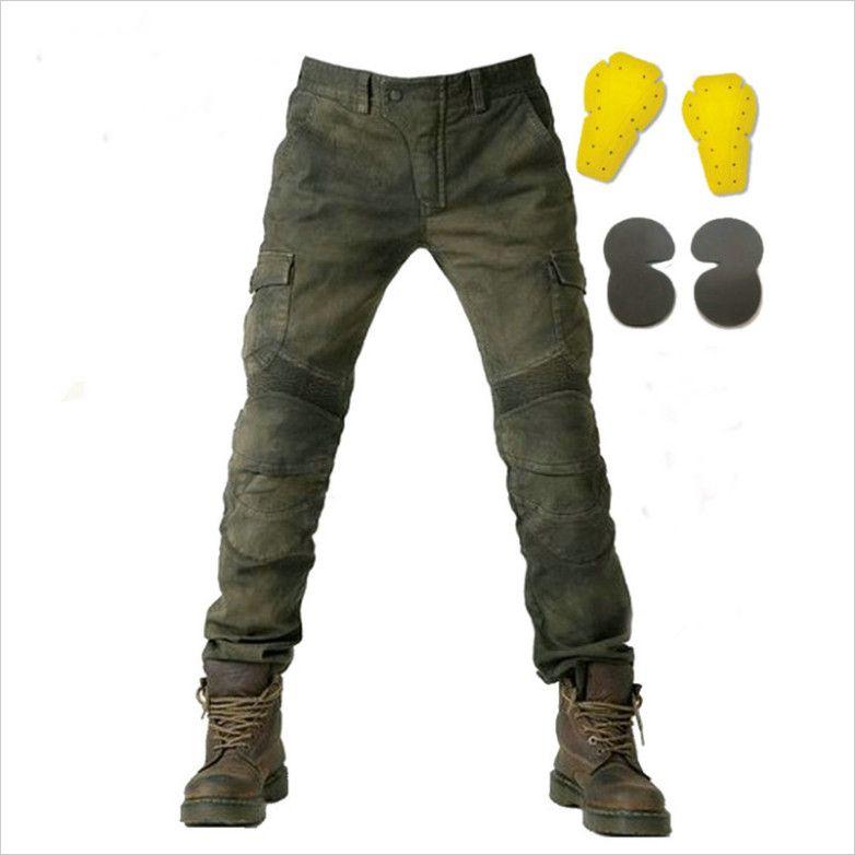 2017 For Komine ubs02 Slacks motorcycle racing jeans moto gp motorcross jeans Leisure retro riding jeans 2 colors ghtr