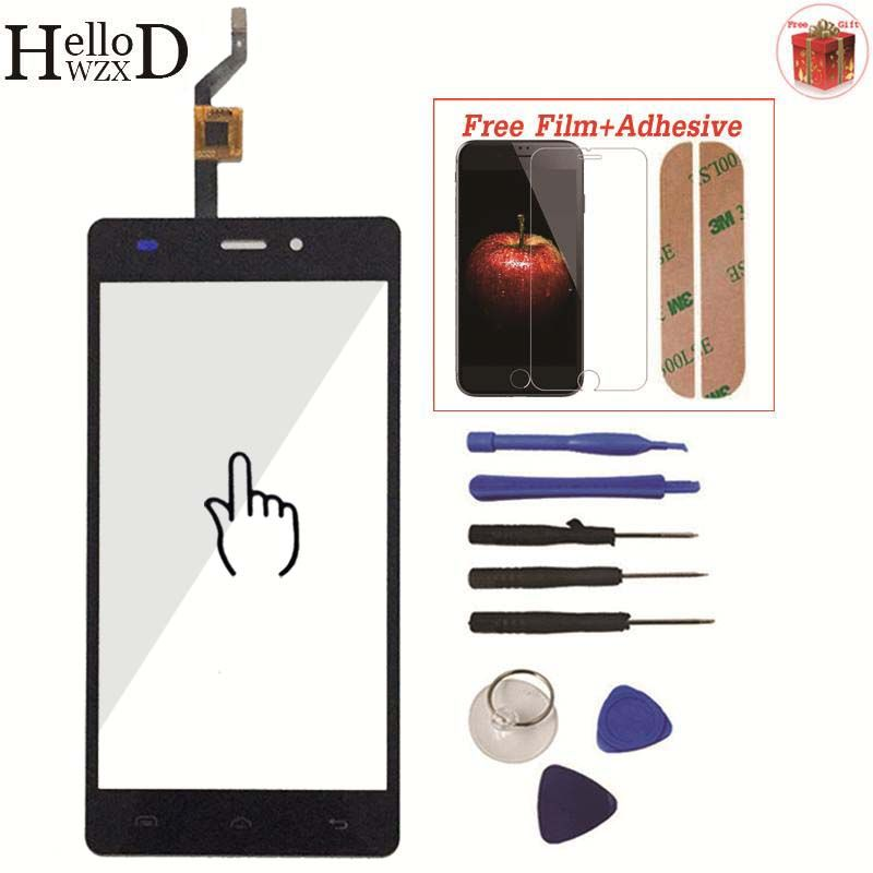 Smartphone For Doogee X5 X5S X5 Pro Front Class Touch Screen Digitizer Panel Assembly Lens Sensor Adhesive Screen Protector Gift