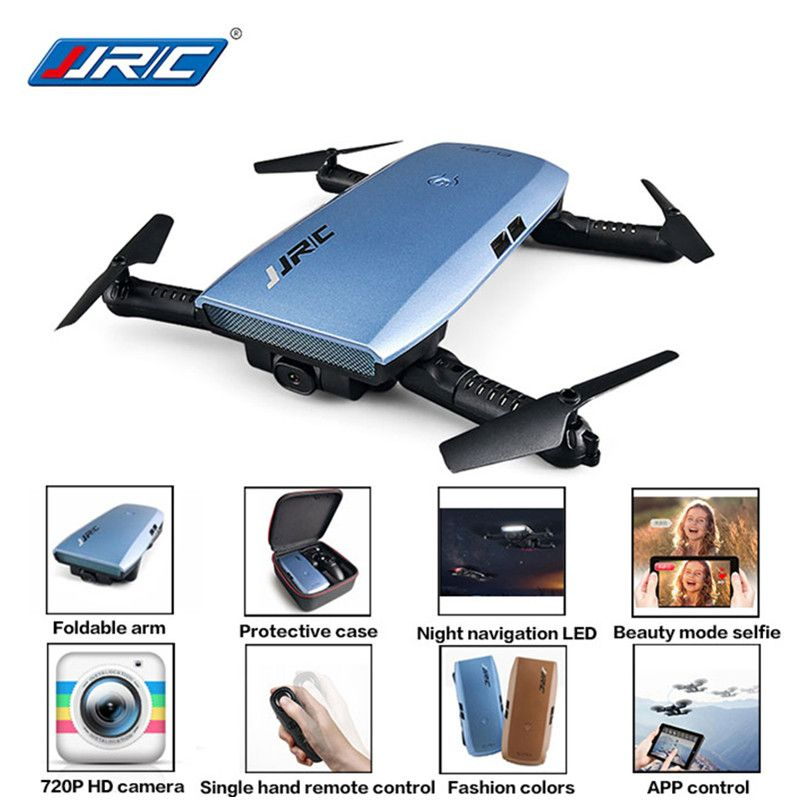 JJR/C JJRC H47 ELFIE Plus With HD Camera Upgraded Foldable Selfie Arm RC Drone Quadcopter Helicopter VS H37 Mini Eachine E56