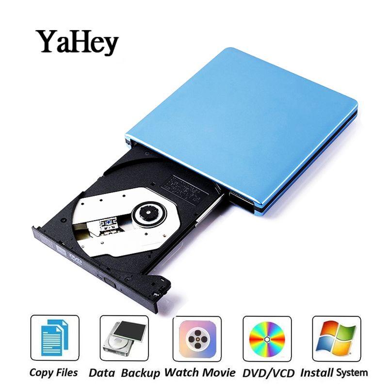 USB 3.0 lecteur DVD lecteur DVD ROM lecteur optique externe lecteur CD/DVD RW graveur enregistreur portable lecteurs pour ordinateur portable Mac pc