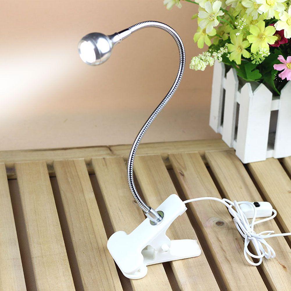 USB Rechargable Flexible augenpflege Einstellbare Lesen LED-Licht Clip-on Clamp Nachttisch Schreibtischlampe Laptop Buch studium Licht