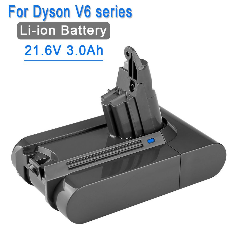 21.6V 3000mAh Li-ion Battery Replacement for Dyson Battery 3.0Ah V6 DC61 DC62 DC72 DC58 DC59 DC72 DC74 Vacuum Cleaner 965874-02
