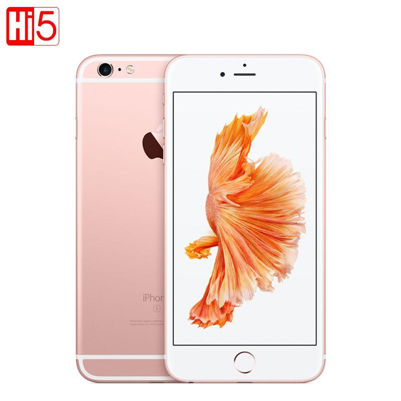 Déverrouillé Apple iPhone 6 S/6 S Plus mobile téléphone Dual Core A9 2 GB RAM 64G/16G ROM 5.5 ''12.0MP Caméra LTE Utilisé 6 s plus IOS 9