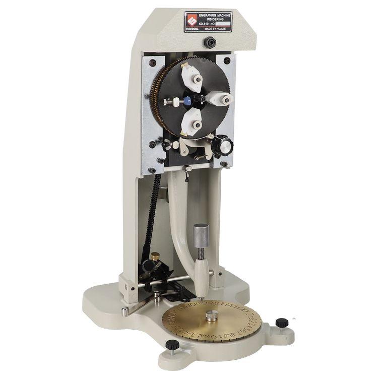 Ring Innen Gravur Maschine, Hand Bedienen, jewerly Gravur Maschine kennzeichnung auf ring anzahl Metall Ring Stecher