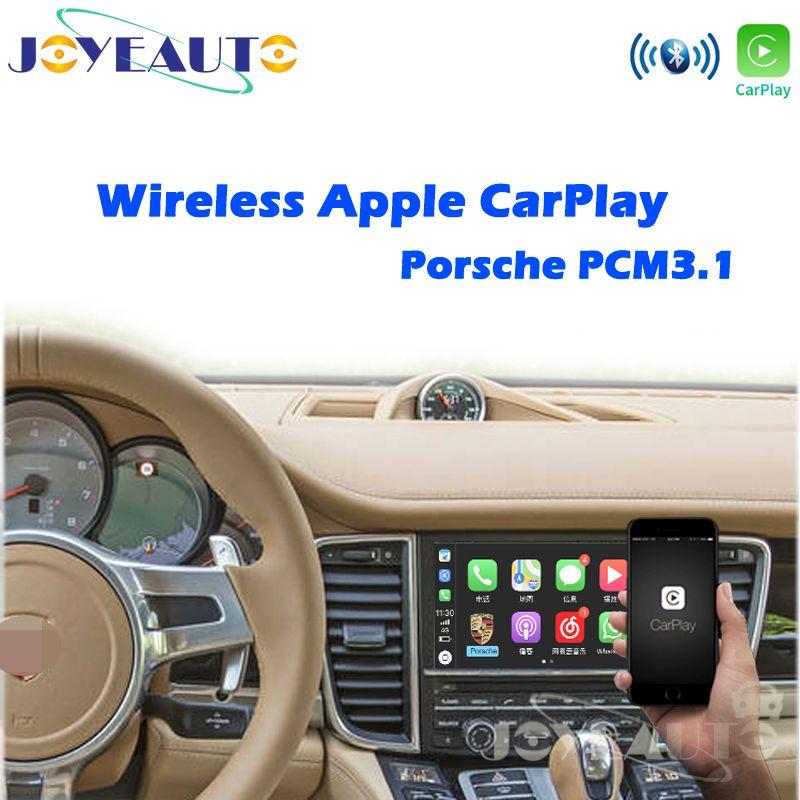 Joyeauto OEM Drahtlose Apple CarPlay für Porsche PCM 3,1 Android Auto Cayenne Macan Cayman Panamera Boxster 718 991 911 Auto spielen