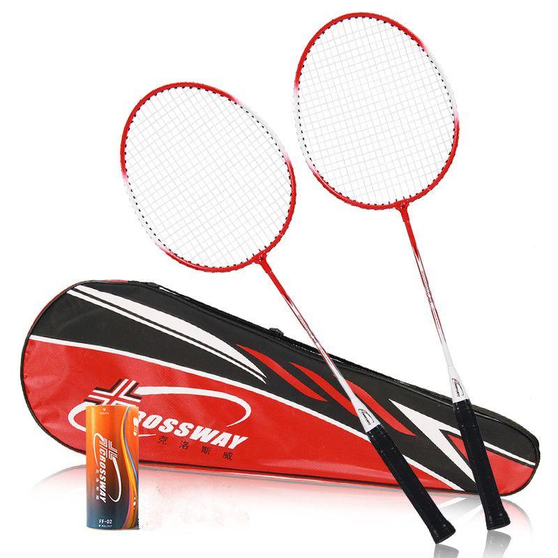 2018 2 stücke Professionelle Badminton Schläger Hohe Qualität Kreuzung Badminton Sport Schläger Sport Schläger
