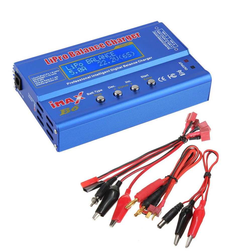 1pcs IMAX B6 Lipo Battery Balance Charger Digital Charger Discharger for RC Quadcopter Dropship