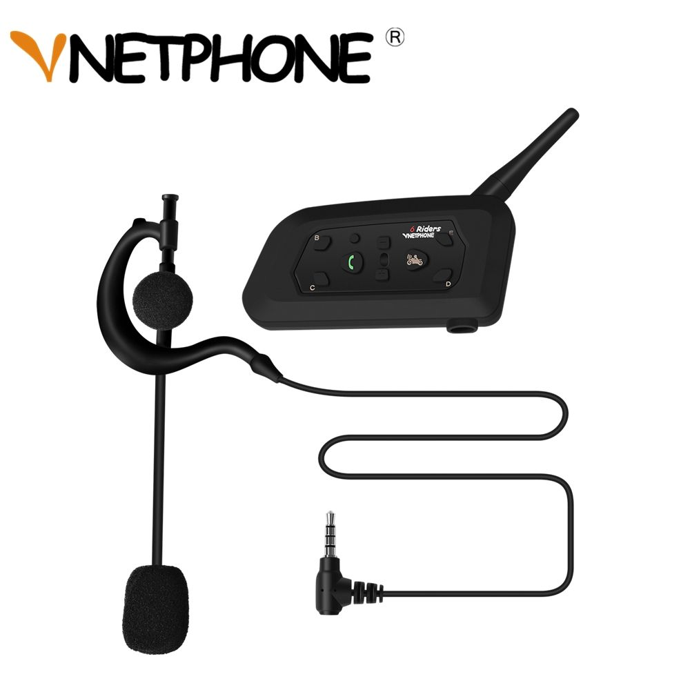 2018 V6C Professional Football Referee Headset Helmet Intercom Wireless Bluetooth Arbitration Monaural Earhook Earphone 1200M
