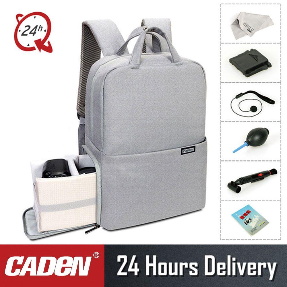 CADeN L5II Anti-diebstahl DSLR Kamera Tasche Rucksack Multifunktions Reise Im Freien Wasserdichte Tablet Laptop Tasche für Sony Canon Nikon