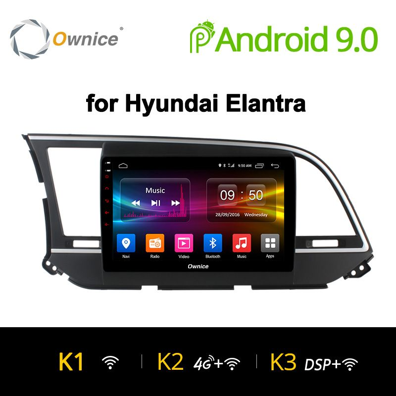Ownice K1 K2 K3 AUTO Radio Player 9