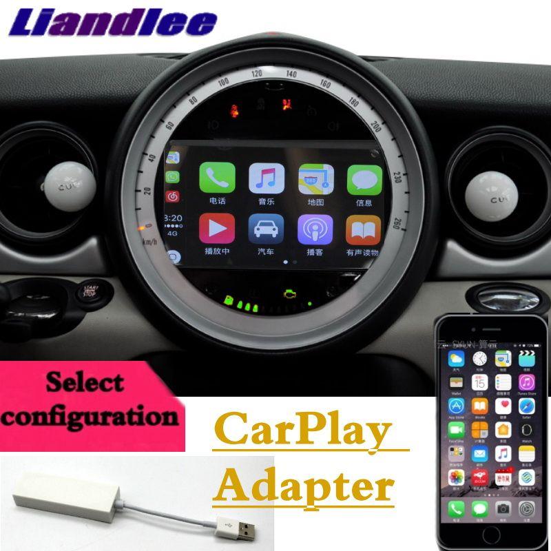 Liandlee Auto Multimedia Player NAVI Für Mini Countryman R60 2010 ~ 2017 CarPlay Android Keine DVD-player Auto Radio GPS karte Navigation
