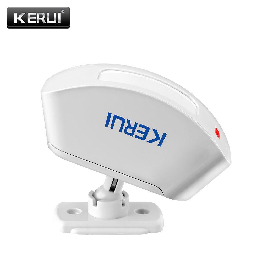 KERUI P817 Sans Fil Infrarouge Détecteur Rideau Capteur PIR Détecteur Antivol Système D'alarme Détecteur costume pour tous les KERUI d'alarme