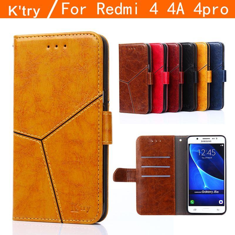 Redmi 4a case xiaomi redmi 4 pro case cover redmi 4 case flip case K'try original Xiaomi Mi Redmi 4 leather funda capa coque 5
