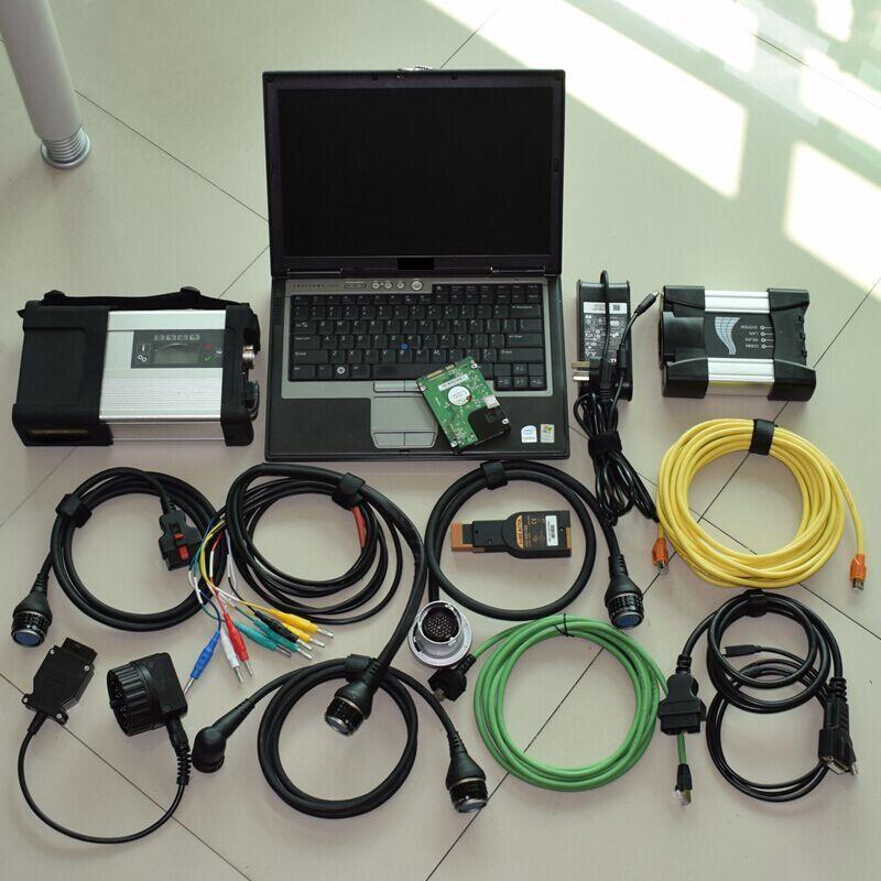 2018 neue für bmw icom nächsten eine b c icom a2 + mb-stern c5 sd c5 verbinden multiplexer + software 2018,12 v in 1 tb hdd + laptop D630 VOLLE