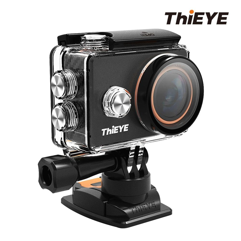 ThiEYE V5s Professional Ultra HD 4K WiFi Action Camera with CPL ND Filters and Metallic Design Waterproof Sports Camera Go Pro