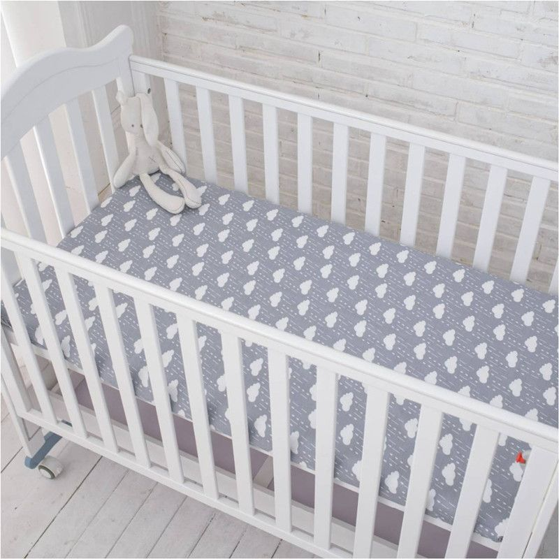 Inflexible hormiga ropa de cama hoja de cama de Bebé 100% algodón recién nacido bebé de la historieta de protección del medio ambiente reactiva impresión 150X90 cm