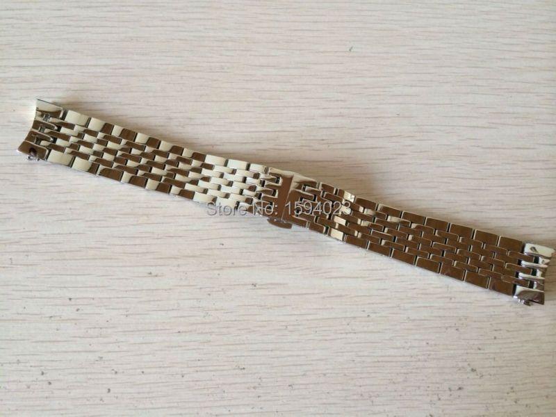 19mm Montre Pièces vigueur Locke T41 mâle bande Solide en acier Inoxydable bracelet bracelet L264 L164/264-1