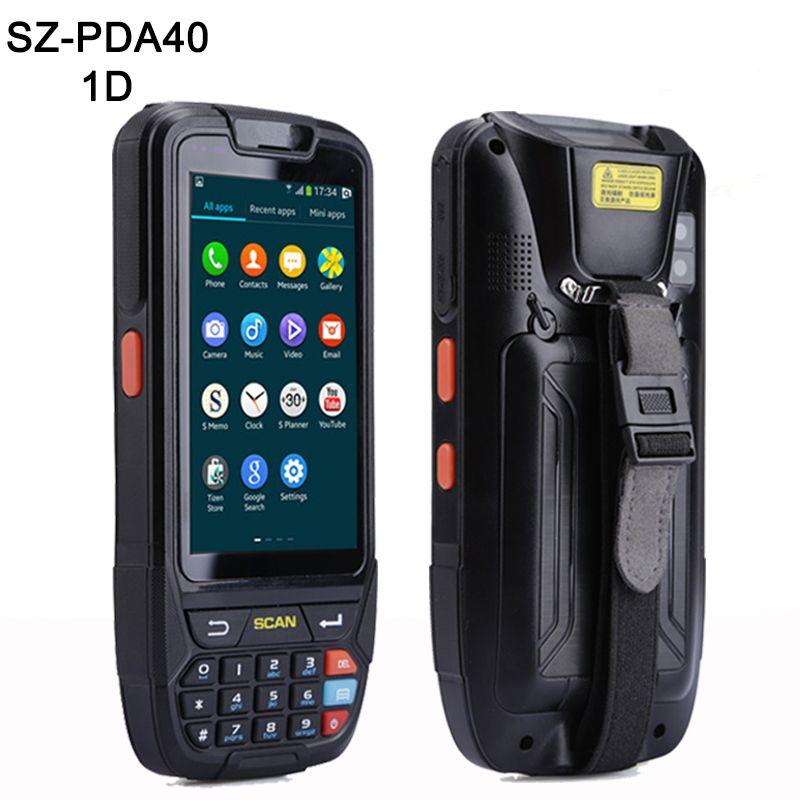 PDA Barcode scanner 1D 2D Bluetooth Android Handheld Terminal Robuste PDA Drahtlose Mobile 1D Bar code Scanner Daten Sammler