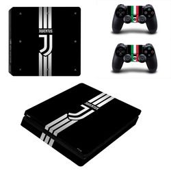Juventus Football Club PS4 Slim Skin Sticker For Sony PlayStation 4 Console and Controllers For Dualshock 4 PS4 Slim Sticker