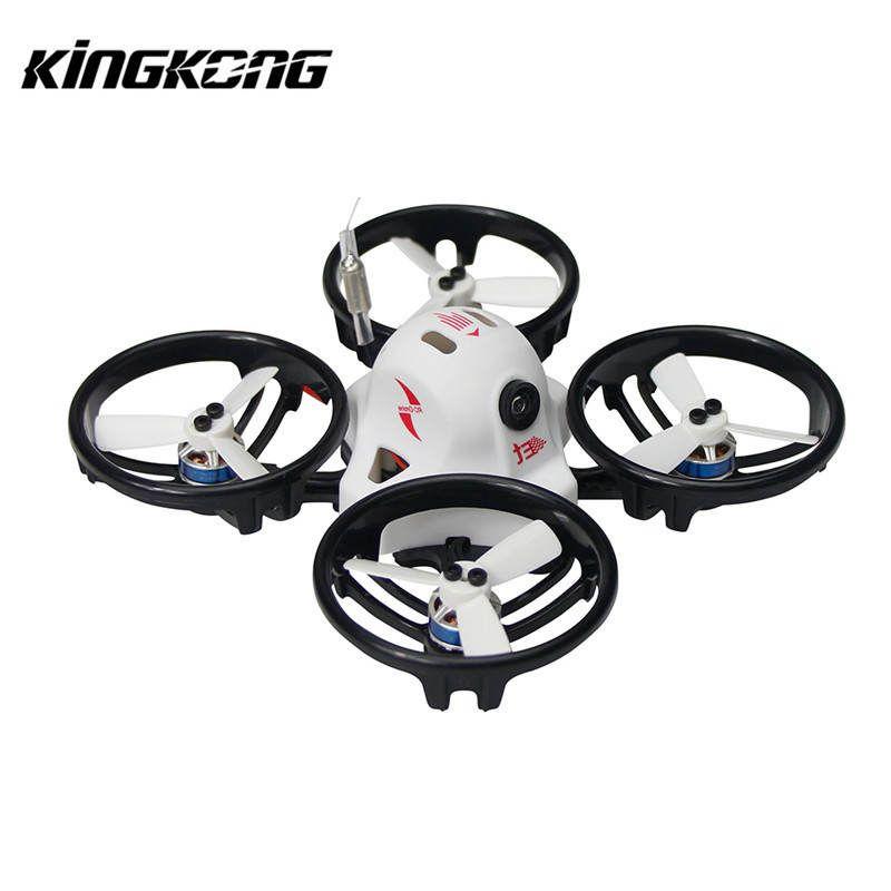 Kingkong ET Series ET125 125mm Micro FPV Racing Drone 800TVL Camera 16CH 25mW 100mW VTX RC Quadcopter BNF VS Tiny 6 X7