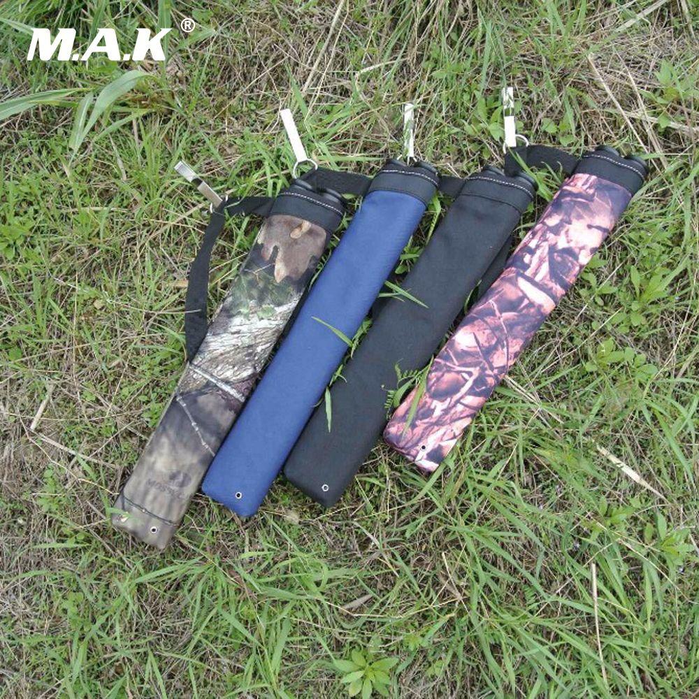 1 шт. стрелка мешок 45x8.5 см Ткань Оксфорд 4 цвета колчан 2 точки одного плеча для стрельбы из лука Охота стрельба