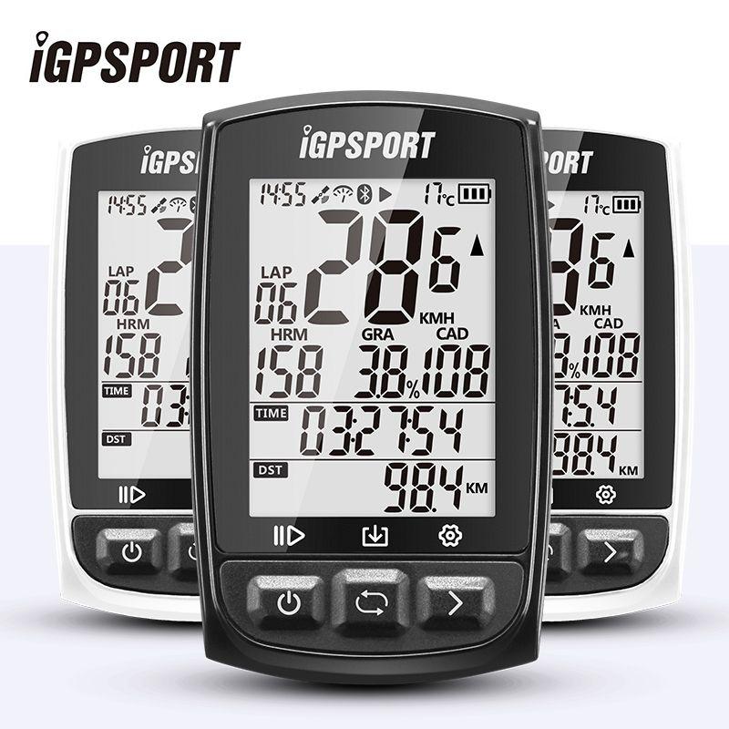 IGPSPORT GPS Radfahren Bike Fahrrad Sport Computer Wasserdicht IPX7 ANT + Drahtlose Tacho Fahrrad Digitale Stoppuhr Zubehör