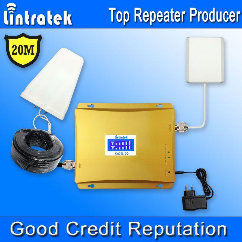 20 Meter GSM 900 MHz 1800 MHz 4G Signal Booster LCD-Display GSM 1800 4G LTE 1800 Handy Signalverstärker Verstärker Kit #