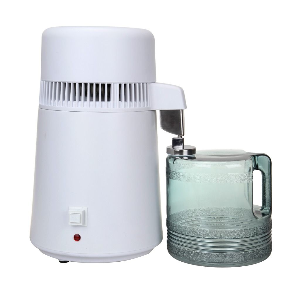 4L Pure Water Distiller Filter Machine Purifier Filtration Hospital Home Office Kitchen Wasser Destillie