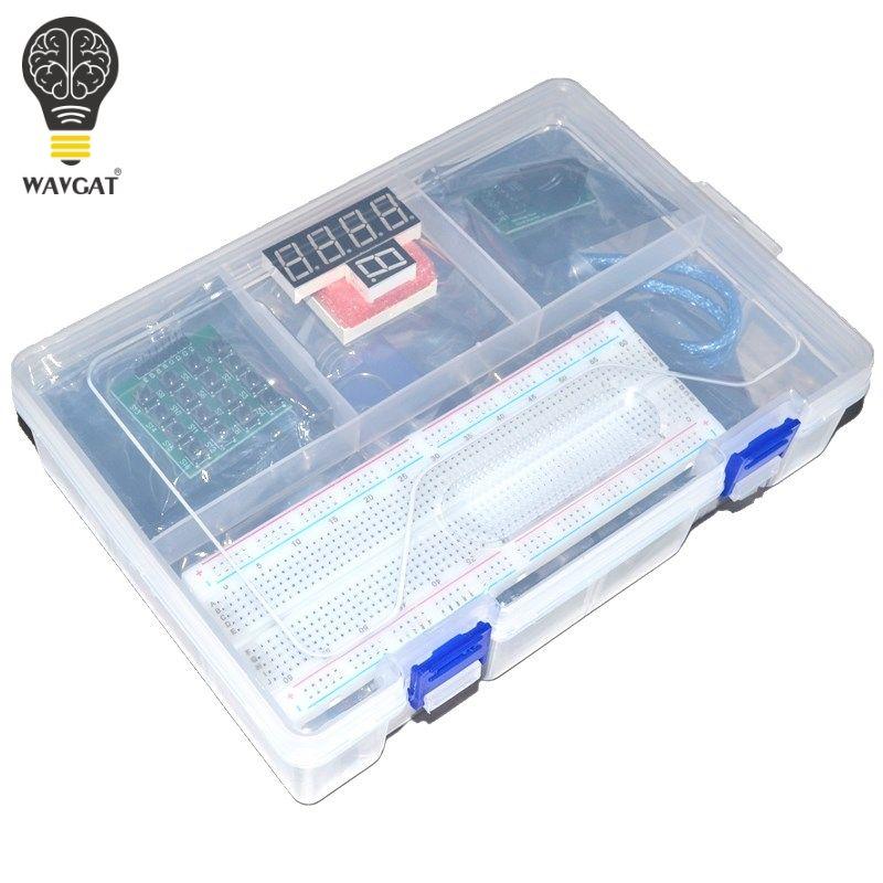 NOUVEAU RFID Kit de Démarrage pour Arduino UNO R3 version Améliorée Suite E-learning Avec la Boîte de Détail WAVGAT
