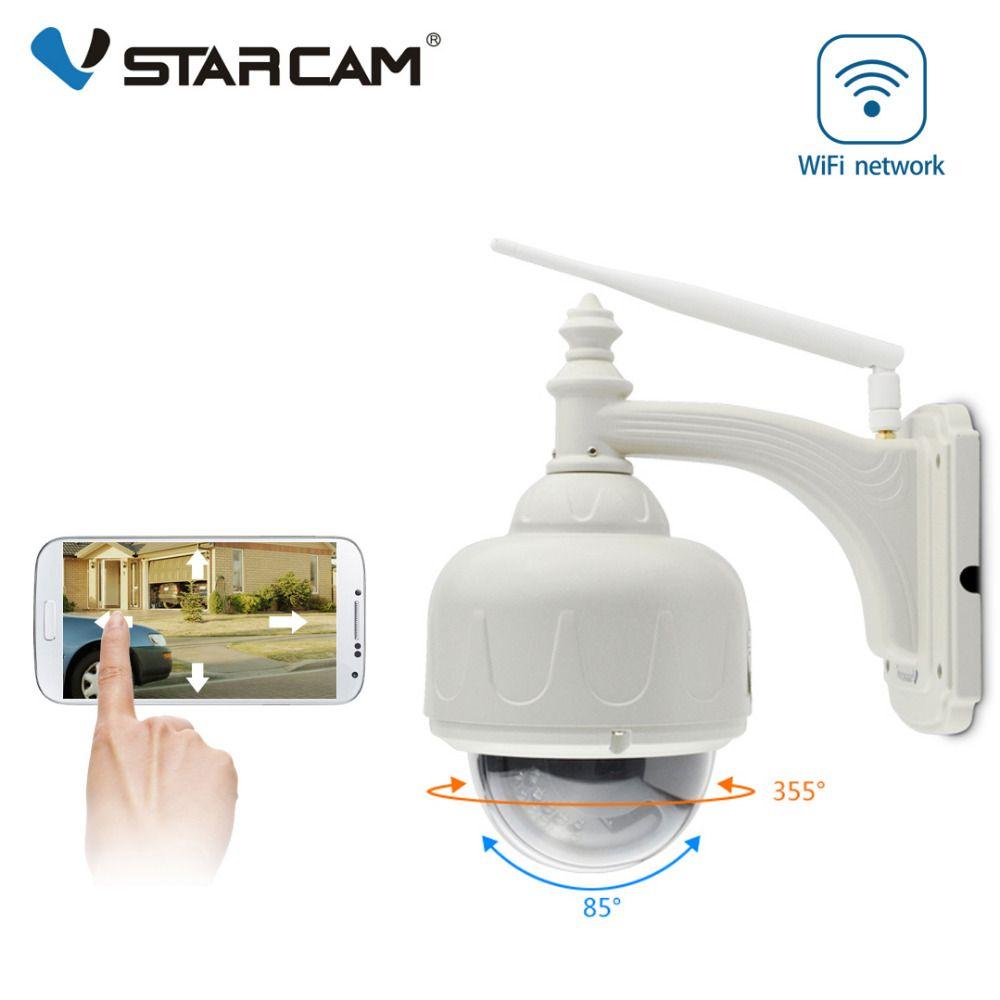 VStarcam C7833WIP Wireless WiFi Outdoor HD IP Security Camera 720P Wifi Wireless Dome Pan Tilt Support 128G