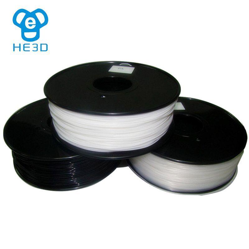 Reprap 3d printer filaments PA Nylon MakerBot/RepRap/UP/Mendel Material Plastic Consumables