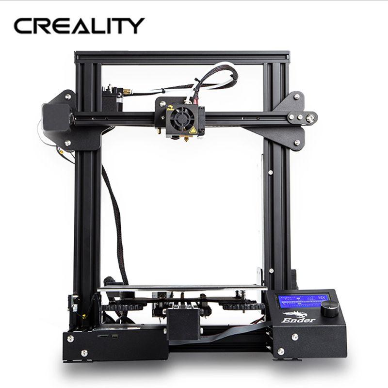 HEIßER CREALITY 3D Drucker Ender-3 DIY KIT MeanWell Netzteil/für 1,75mm PLA ABS PETG/aus Russland