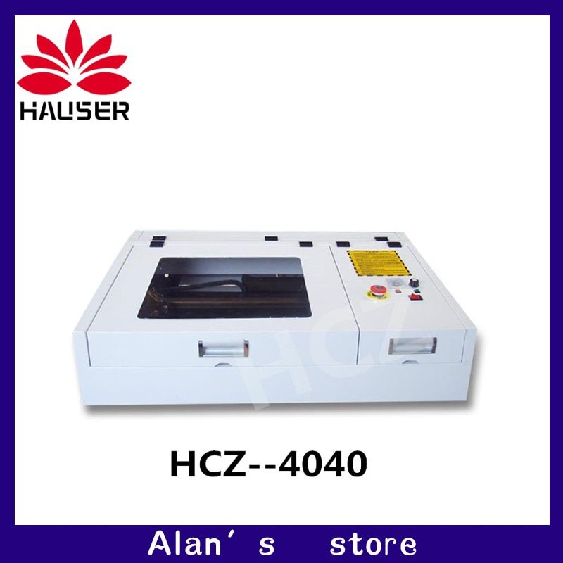 50W CO2 Laser engraving machine 4040 laser cutting machine 40 * 40CM work format laser marking machine diycnc engraving machine