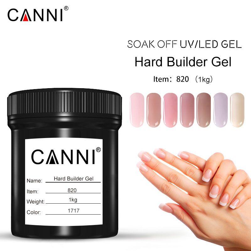 Venalisa 1000 ml Fest Jelly Gel CANNI Neue Produkt 1 KG Groß tränken Weg Camouflage Fest Gel 3D Nail art Verlängern Builder Gel