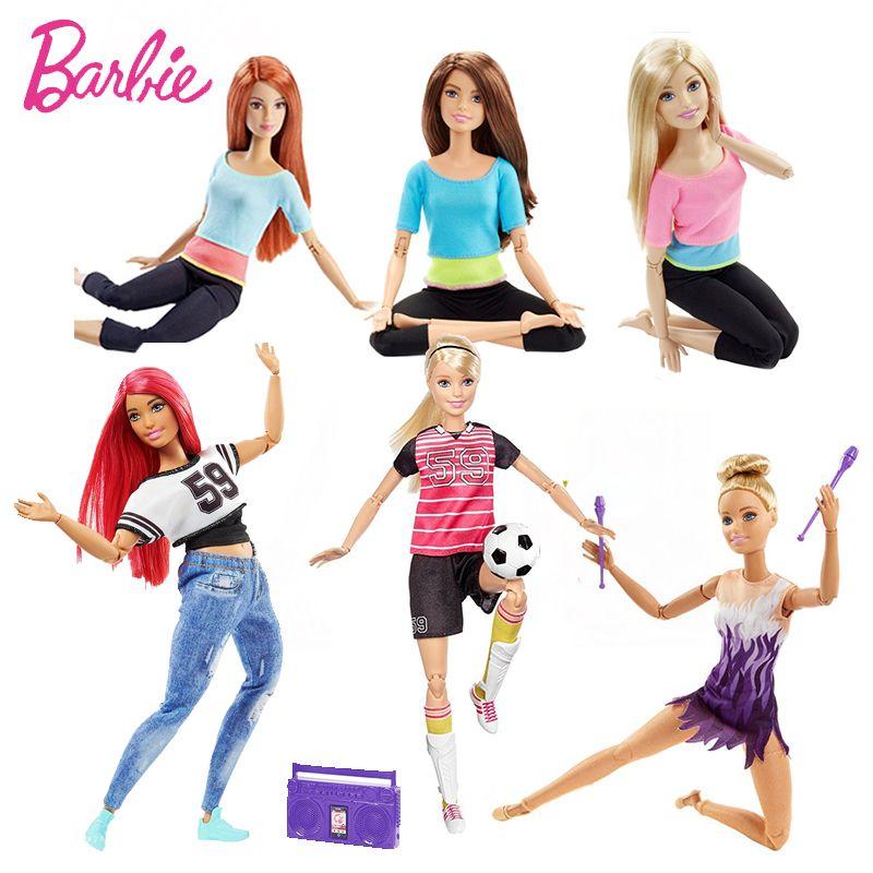 Original Barbie Marque American Girl Poupées 6 Style Gymnas Mouvement Des Articulations Jouets Pour Enfants La Fille UN Cadeau D'anniversaire Bonecas
