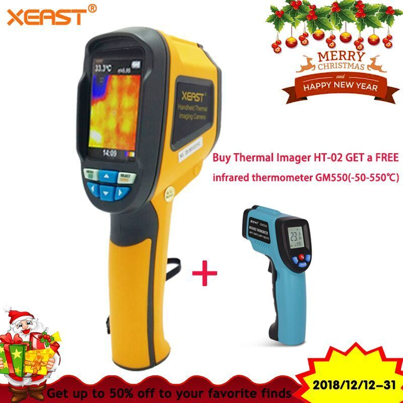 Buy ONE Get ONE Fast Shipment from Russian Industrial thermal imager sell hot Infrared Thermal Camera ht-02 On sale indust