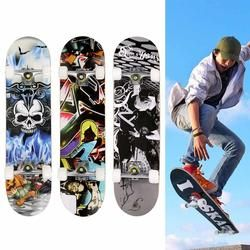 Fashion PRO Scooter Skateboard Print Wood board Stunt Scooter for Adult Skate Board Outdoor Extreme Sports Long Board Hoverboard