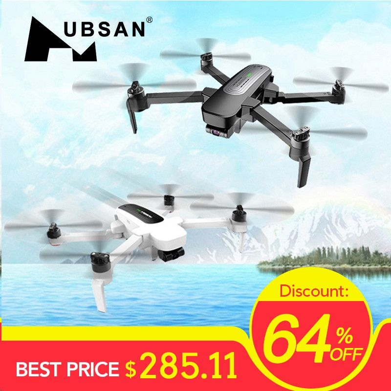 In Lager Hubsan H117S Zino GPS 5,8G 1KM Faltbare Arm FPV mit 4K UHD Kamera 3- achsen Gimbal RC Drone Quadcopter RTF FPV