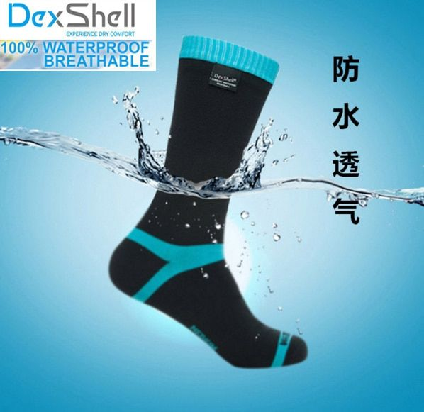 Men high quality knee-high breathable coolmax FX <font><b>running</b></font> waterproof/windproof coolvent cycling riding hiking outdoor sport socks