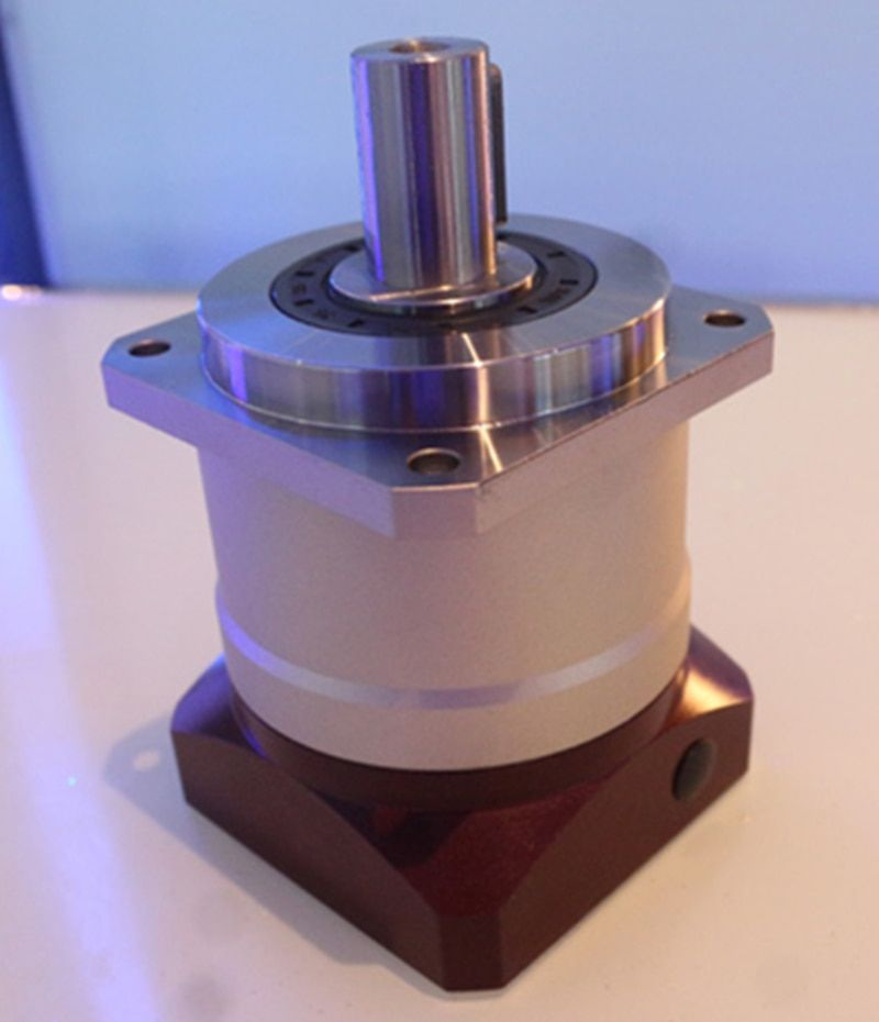 115 Helical planetary reducer gearbox 5 arcmin 3:1 to 10:1 for 130mm AC servo motor input shaft 22mm