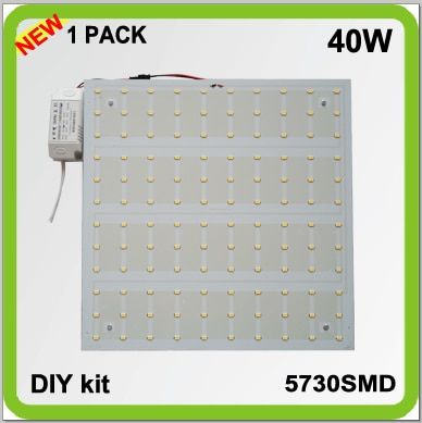 Fabricant bricolage installer 220 V 230 V 240 V bricolage kits surface monté 40 W LED pcb plafonnier source techo LED panneau 30*30 cm 4200lm