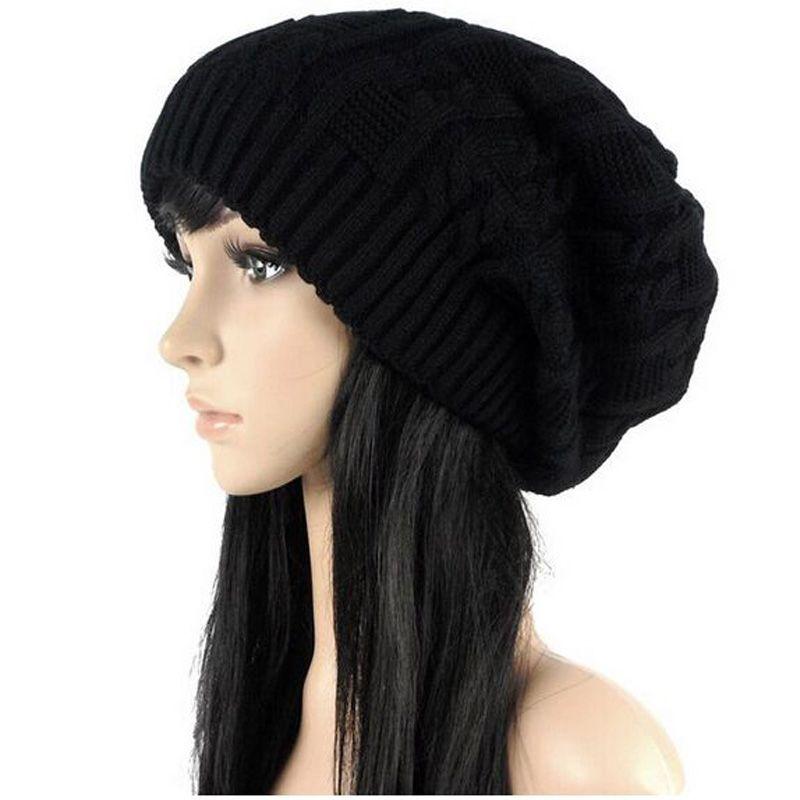 Vendre comme des gâteaux chauds mode casquettes chaud automne hiver tricoté chapeaux pour femmes rayures Double-pont Skullies hommes bonnets 6 couleurs