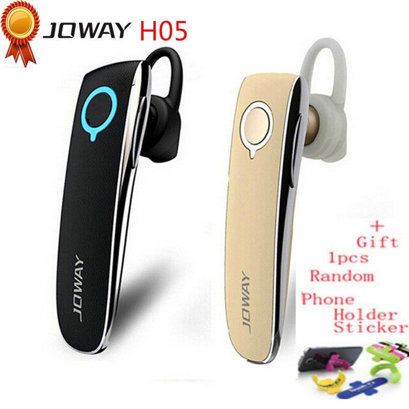 Joway H05 casque d'écoute sans fil stéréo Bluetooth casque d'écoute en cuir Style pilote d'affaires avec micro pour les téléphones fone de ouvido