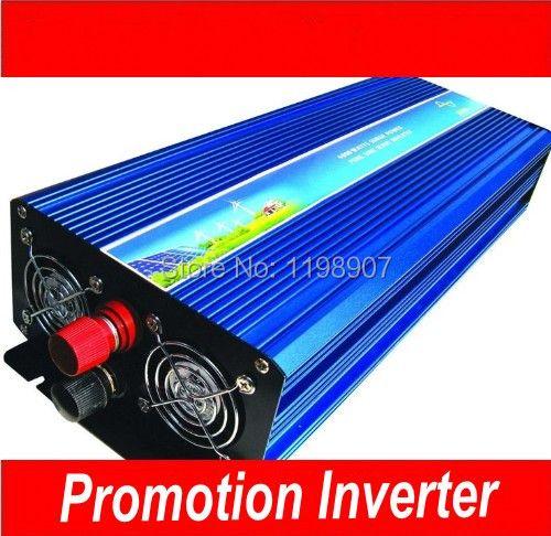 10000w peak inversor de Pure Wave 5000W Inverter DC12V/24V/12V to AC220V Pure Sine Wave Inverter 10000W Peak Power Inverter