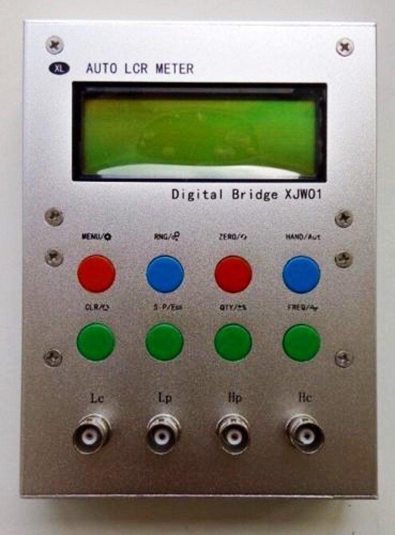 2018 New Auto LCR Digital Bridge Resistance Capacitance Inductance ESR Meter