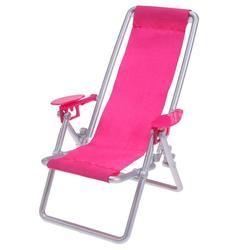 Foldable Deckchair Lounge Beach Chair Dollhouse Furniture Foldable Deckchair For Lovely Miniature For  Dolls House Props
