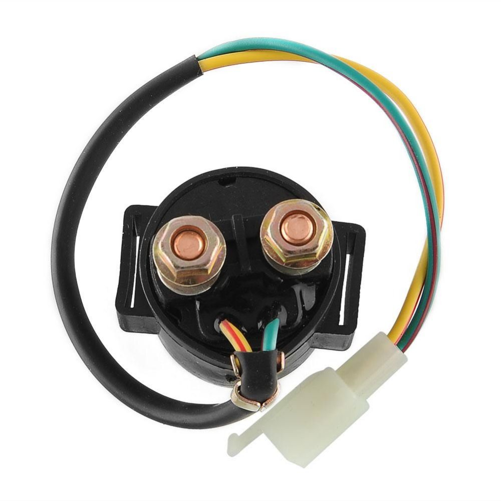 Universal 2 Pins Connection Starter Solenoid Electric Relay ATC Scooter Dirt Bike Moped 110cc/125cc GY6 150CC 50CC 70CC 250CC